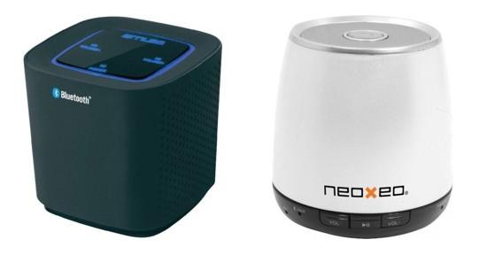 La M-500 BT de chez Muse et la SPK 140 de chez Neoxeo