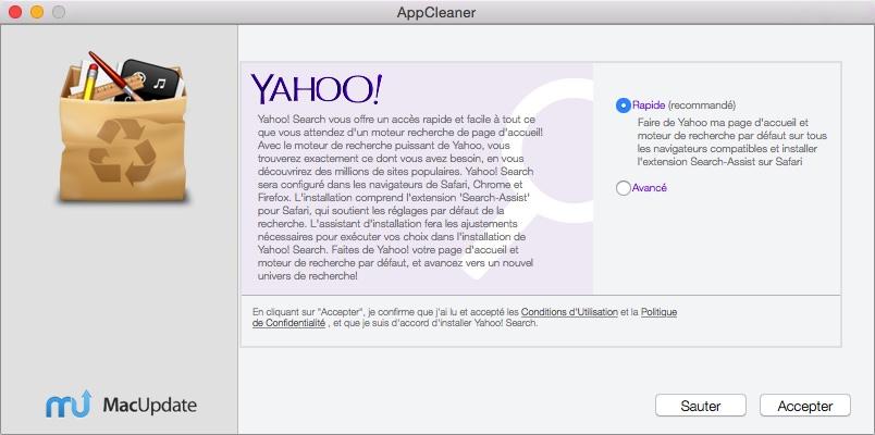 Il vous propose ici de mettre Yahoo en page d'accueil !