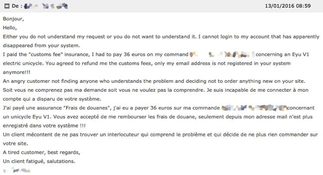 Réponse en français et en anglais, on ne sait jamais !