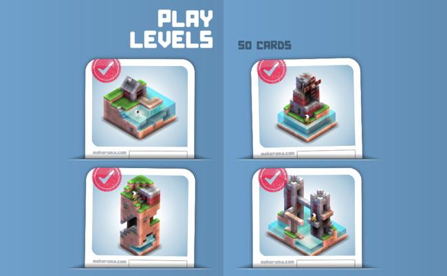 Les quatre premiers niveaux